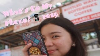 What's in my phone? 2019 // Zy Rodriguez