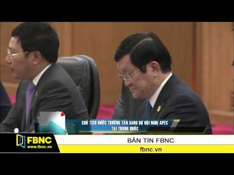 Chủ tịch nước Trương Tấn Sang dự Hội nghị APEC tại Trung Quốc