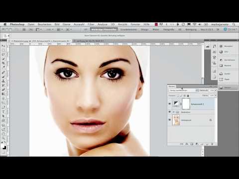 0 Rouge auftragen   Das Photoshop Training: Porträtretusche