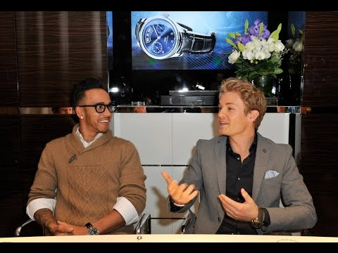 Lewis Hamilton and Nico Rosberg on 2015 - Sky Sports F1