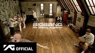 Watch Bigbang We Belong Together video
