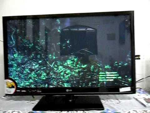 Defeito som TV Plasma LG 42PJ350