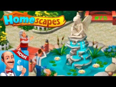 HomeScapes Дворецкий Остин #75 (уровни 434-439) Открытие Статуи! Детское игровое Видео Let's Play