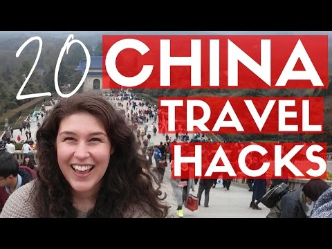 20 CHINA TRAVEL HACKS   Top Tips For First Time Visitors