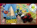 Cars For Kids MEGA TOY CAR CHAOS Construction Police Hot Wheels EVERYTHING mp3