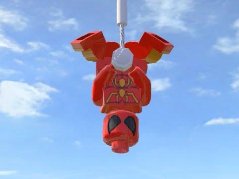 LEGO Marvel Superheroes - IRON-SPIDER FREE ROAM GAMEPLAY (MOD SHOWCASE)