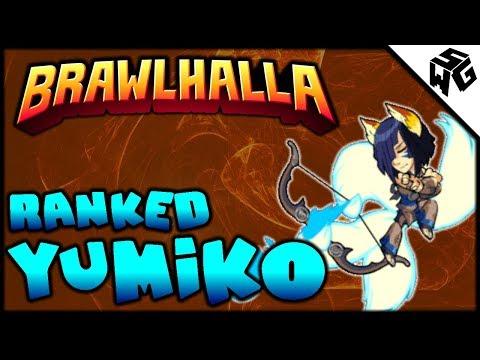 Road to Diamond Ranked Yumiko 1v1's - Brawlhalla Gameplay :: Katars Still So Good!