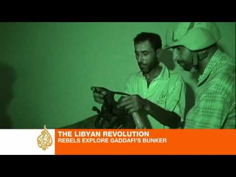 Libyan Revolution: Rebels explore Gaddafi