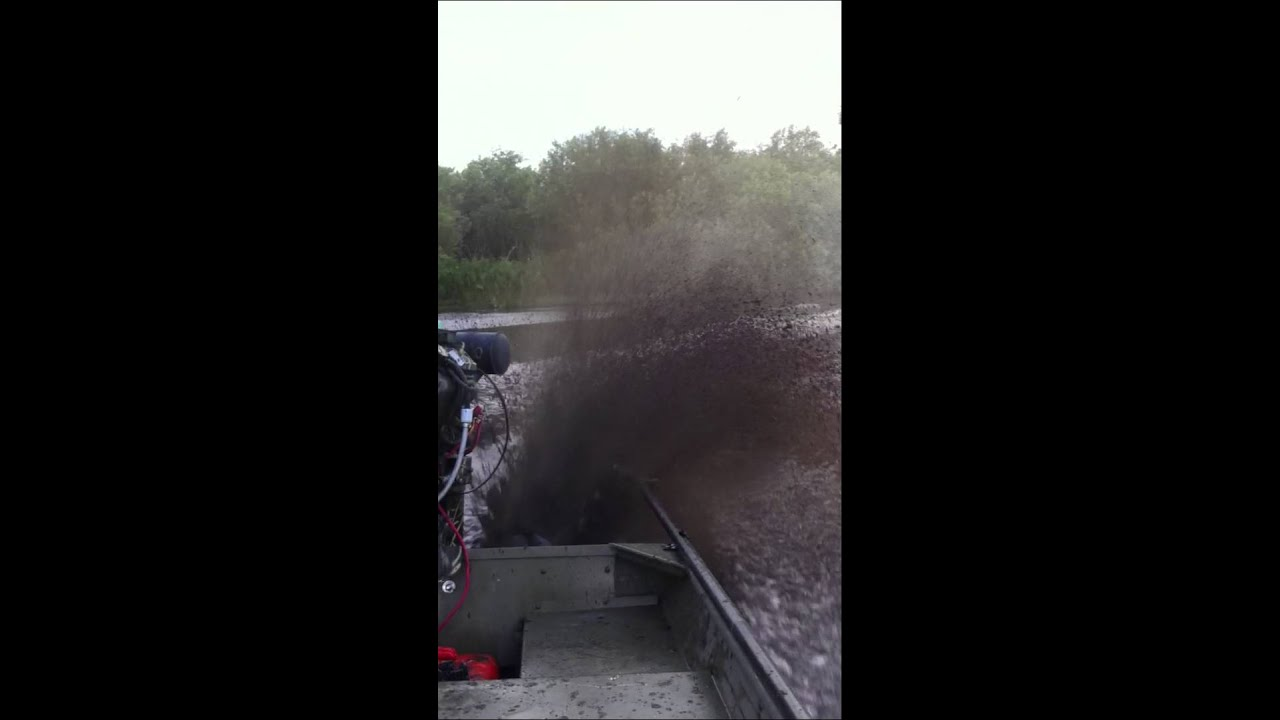Dixie Mud Motor 23 Surface Drive Youtube