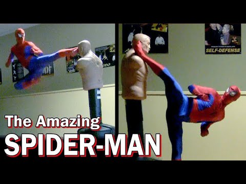 Taekwondo / Kickboxing Spiderman