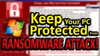 How To Download Windows Security Patch Manually (Ransomware Attack!)