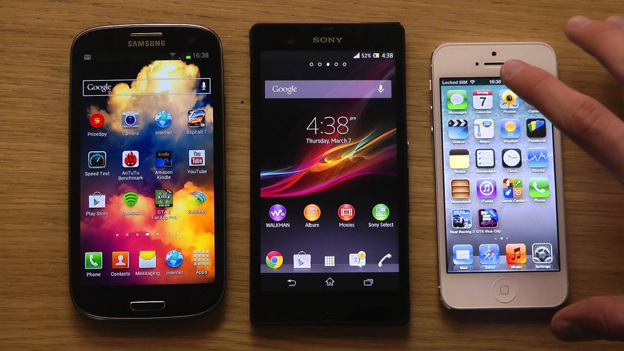 Comparison Galaxy s3 And Iphone 5 Iphone 5 Screen Comparison
