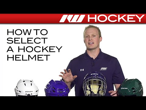 How to Select a Hockey Helmet
