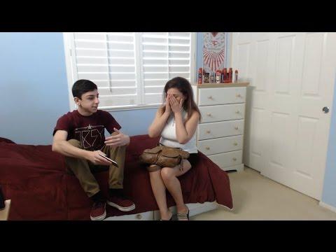 Getting A Girl Pregnant Prank!! video