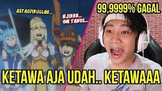 KETAWA AJA DAH, IMAN GW LEMAH - TRY NOT TO LAUGH Anime crack #6