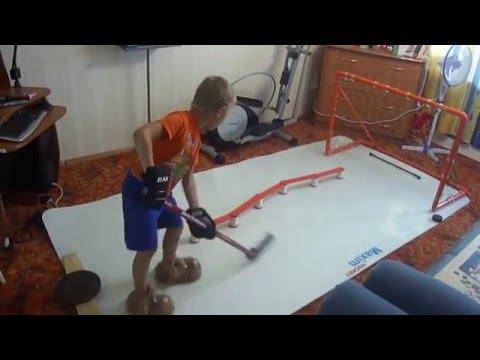Хоккейные тренажеры своими руками 300