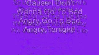 Tara Oram Go To Bed Angry