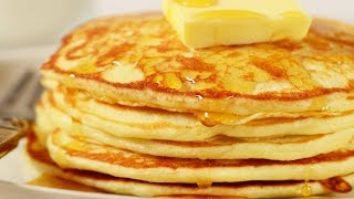 Pancakes Recipe Demonstration - Joyofbaking.com