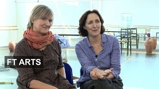 Fiona Shaw and Deborah Warner