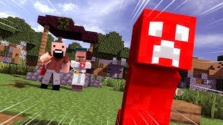Red Creeper Collab - Minecraft Animation
