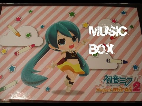 VOCALOID MUSIC BOX DECO 27 FEAT HATSUNE MIKU YUME YUME