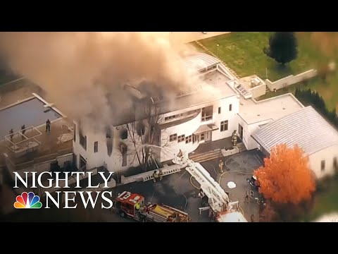 Family Found Dead At Burning New Jersey Mansion Were Killed Prior To Fire | NBC Nightly News