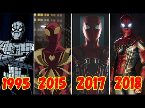 Эволюция Железного Паука  (1995-2018)