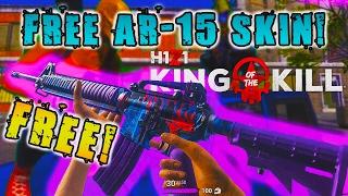 *FREE ULTRA RARE H1Z1 AR-15 GUN SKIN!* - SHOWDOWN 2017 FREE H1Z1 AR SKIN!