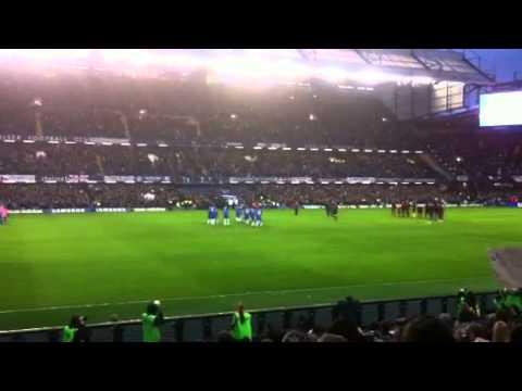 Chelsea booing Rafael Benitez