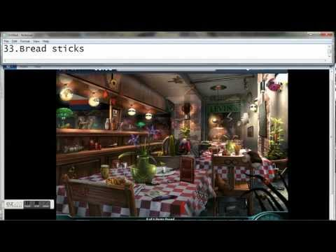 Criminal Case # 5 Dining Room (All Items)