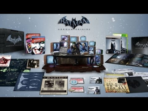 Обзор Batman Arkham Origins Collector's Edition(USA)