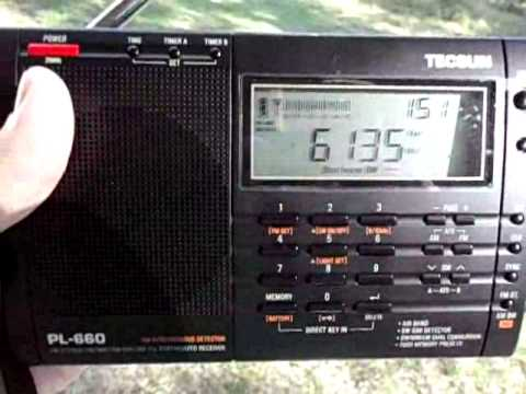 6135KHz - Radio Aparecida - SP - Brazil