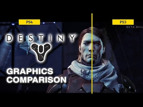 Destiny Beta: PS3 vs PS4 Graphics Comparison