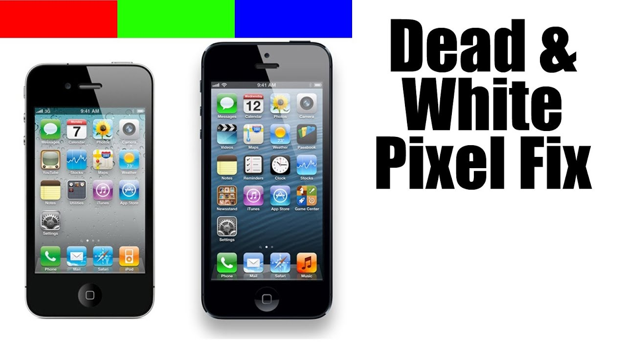 iphone dead pixel fix youtube. Black Bedroom Furniture Sets. Home Design Ideas