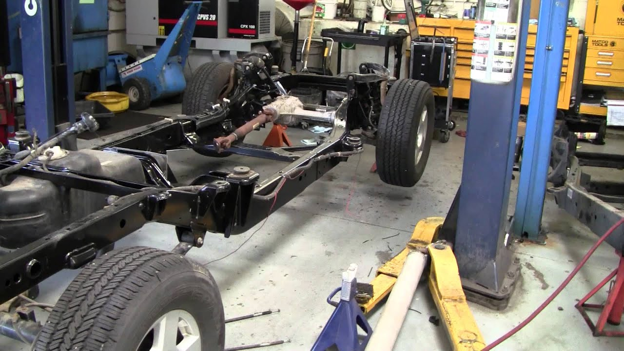 Full Frame Replacement Fun On An 2006 Nissan Frontier