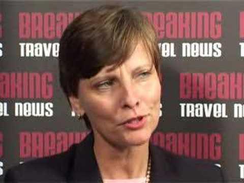 Gisela Munchgesang, Cluster General Manager, Hilton Seychelles @ WTM 2007