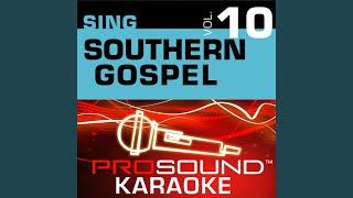 In The Garden Karaoke Instrumental Track In The Style Of Gospel