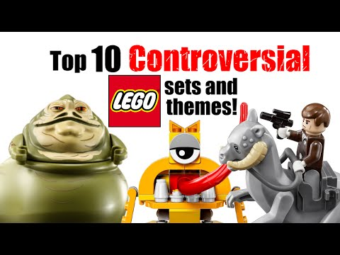Top 10 Controversial LEGO Sets and Themes!