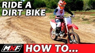 Download Lagu How To Ride a Dirt Bike for Beginners (with a Clutch) - 3 EASY STEPS Gratis STAFABAND