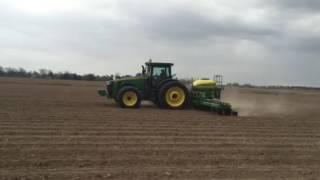 Planting corn 1725C