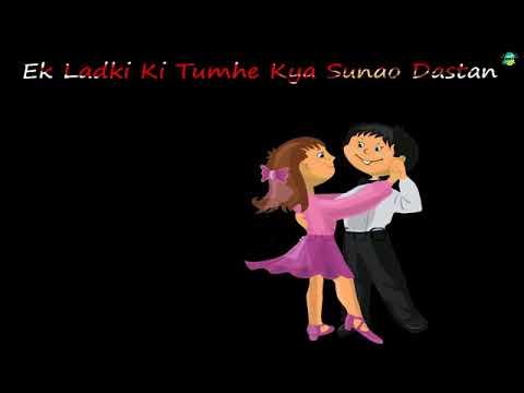 Ek Ladki Ki Tumhe Kya Sunao Dastan    WhatsApp status lyrics 2017    Rk Music Cafe