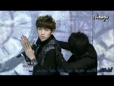 [Tv.BanG] -  (Perf) 2AM - I Did Wrong ( Arabic Sub )