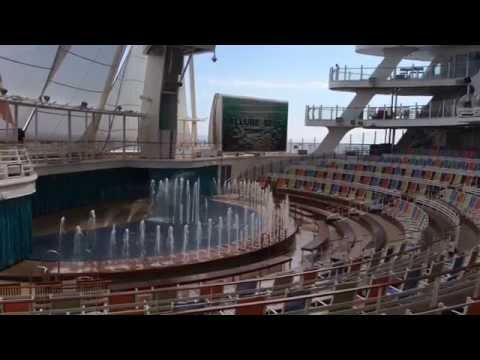 Aquatheater - Allure of the Seas - Royal Caribbean