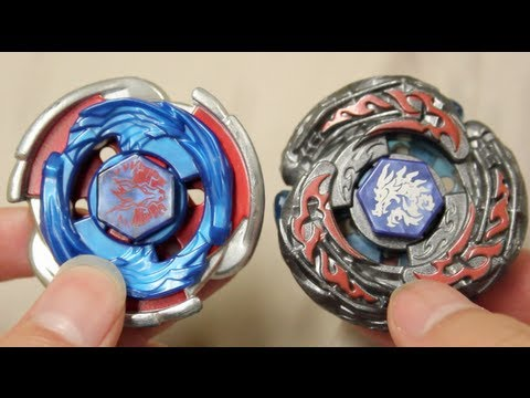 Hasbro Beyblade Battle : Cosmic Pegasus W105r²f Vs Ldrago Destructor Lw105lf video