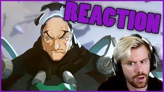 NEW HERO - Sigma Origin Cinematic Reaction | Overwatch