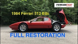 Ferrari Berlinetta Boxer - 1984 512 BBi - FULL Restoration