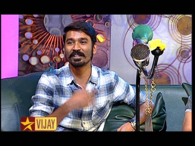 Koffee with DD - Dhanush and K V Anand   22nd February 2015   Promo 7