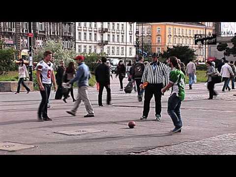 Zajawka na Sport – futbol amerykański w centrum Warszawy