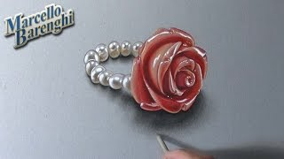 How I Draw A Rose Ring
