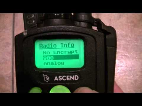 EF Johnson 5100 Ascend 900mhz Model III Two-Way Radios - Digital & Analog P25 Programmed!